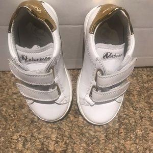 Naturino Toddler Metallic Patch Sneakers